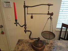 Victorian Brass Antique Scale