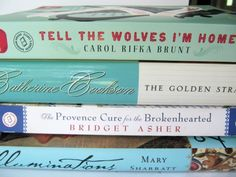 Pine Cones and Acorns: Tell The Wolves I'm Home, Illuminations and More Summer Reading