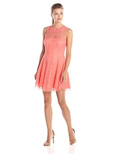 BB Dakota Women's Lotte Scallop Lace Sleeveless Fit and Flare Dress, Sorbet, 10 BB Dakota http://www.amazon.com/dp/B00S5PAC78/ref=cm_sw_r_pi_dp_DIAPvb1SH0ER0