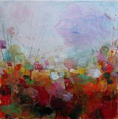 "Saatchi Online Artist: Sandy Dooley; Acrylic, 2012, Painting ""Red Spring"""