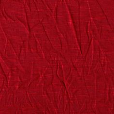 Florence Crushed Jersey Knit Red $5.98/yard.