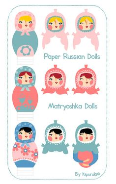 Another Celebrated Dancing Bear: Russian Paper Dolls