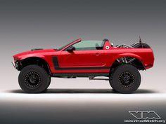 Ford Mustang BAJA. Simplemente impresionante!!!