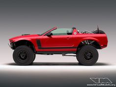 Ford Mustang Boss 302 Baja... Well it makes more sense than making a lowrider out of a truck.