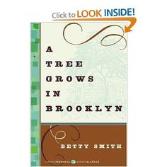 """Book """"A Tree Grows in Brooklyn"""" by Betty Smith. A lovely coming-of age story. An American classic. This Is A Book, Up Book, I Love Books, Great Books, Books To Read, Children's Books, Big Books, Amazing Books, Fiction Books"""