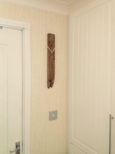 Simple Driftwood Clock
