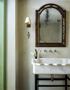 Bathroom Showrooms, Bathroom Interior, Bathroom Sinks, Bathroom Ideas, Washroom, Master Bathroom, French Bathroom, Apartment Interior, Home Renovation