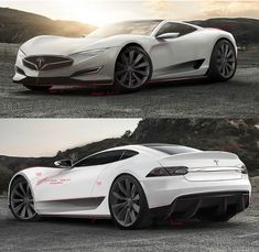 Here's how a Tesla hypercar could look if Elon Musk ever decides to build such a car.