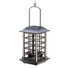 Solar Bird Feeder Lantern is a bird feeder by day and lantern by night.  A great birdwatching and night time experience all in one.  Find it at JSWorldDecor.Eeosk.Com