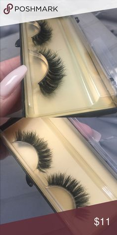 Full mink fur lashes ❤ (TOP RATED lashes)   ✔ Brand new, one pair. CRUELTY FREE ✔ 100% 3D mink fur lashes.  ✔ Super light weight and soft, soft band ✔ Full dramatic look for a great price. Makeup False Eyelashes