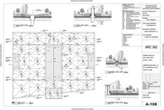 As part of a building construction course focusing on concrete, the goals of this project were to create a partial set of working drawings for a precast concrete office building. The footprint and...