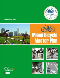Miami Bicycle Master Plan Cover