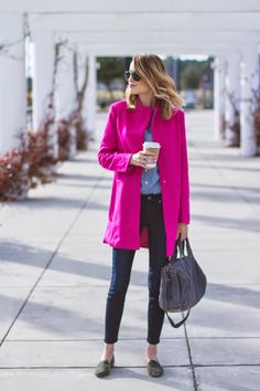 Little Blonde Book by Taylor Morgan | A Life and Style Blog : Pop of Pink