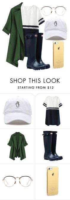"""""""Rainy_scrap"""" by lucycouture17 on Polyvore featuring Hunter and Linda Farrow"""