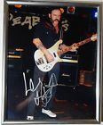 SIGNED MOTORHEAD LEMMY KILMISTER 8X10 PHOTO FRAME (Cleveland Holiday Food Drive)