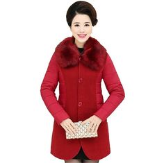 39.26$  Watch now - https://alitems.com/g/1e8d114494b01f4c715516525dc3e8/?i=5&ulp=https%3A%2F%2Fwww.aliexpress.com%2Fitem%2F2017-New-Winter-Women-Large-yards-Woolen-Stitching-Jacket-Coat-Medium-Long-Warm-Cotton-Jacket-Elegant%2F32782805869.html - 2017 New Winter Women Large yards Woolen Stitching Jacket Coat Medium Long Warm Cotton Jacket Elegant Women Fashion Jacket G2088 39.26$