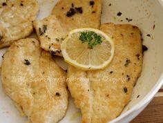 Scaloppine pollo al limone ricetta il mio saper fare