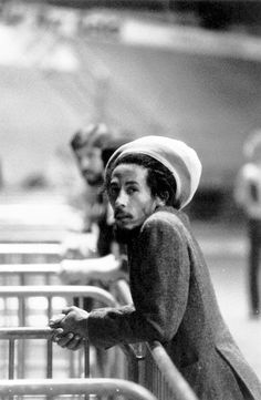 Bob Marley, ca. 1980's. ☀