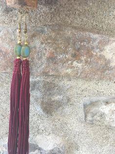 Barcelona Earrings ethical jewellery handmade Italian