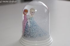 MiMi Erdbeer | DIY Schneekugel – Frozen