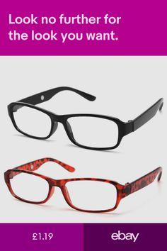 a31e85076789 Fashion Reading Glasses Chain Link Temple Design Red Black Brown in ...