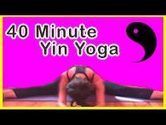 Relax & renew! 40 minute yin, deep stretch yoga. Michelle Goldstein's Heart Alchemy Yoga