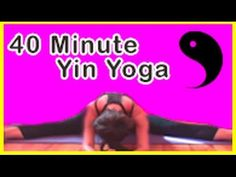40 minute yin, deep stretch yoga. Michelle Goldstein's Heart Alchemy Yoga