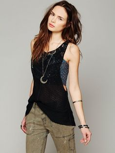 Free People Mixed Lace Drop Tank http://www.freepeople.com/whats-new/mixed-lace-drop-tank/
