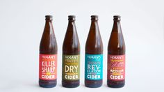 Hogan's Cider on Packaging of the World - Creative Package Design Gallery