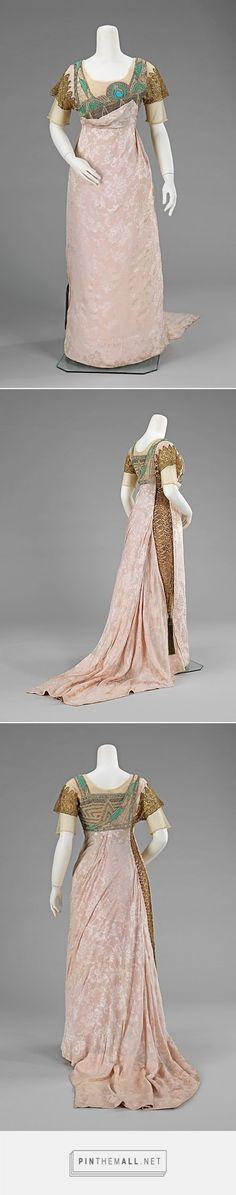 Evening dress by Simcox 1912 American | The Metropolitan Museum of Art