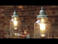 DIY mason jar lights: 25 best tutorials on making beautiful pendants & lanterns and choosing quality kits, supplies to make them safe and long lasting!