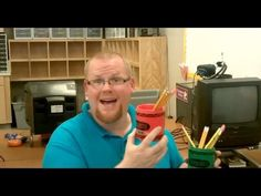 Teacher Tipster (Pencil Cups) I totally use this in the art room!