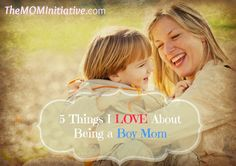 There's nothing like being a mom! Nothing so hard. Nothing so amazing!  5 THINGS I LOVE ABOUT BEING A BOY MOM!