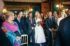 indoor wedding processionals // view ruffledblog.com