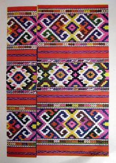 Cralovăț - cilim în străji cu cocori și ruje Folk Art, Europe, Quilts, Blanket, Popular Art, Quilt Sets, Blankets, Log Cabin Quilts, Cover