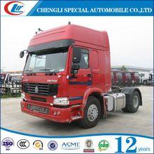 4*2 tractor truck heavy duty cargo truck tractor for sale