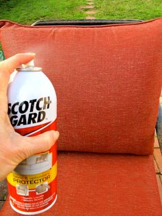 8 best cleaning outdoor cushions images cleaning outdoor cushions rh pinterest com scotch guarding a sofa scotch guarding a sofa uk