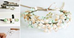 Vlastnoručne vyrobenú kvetinovú čelenku je možné využiť ak sa chystáte na svadbu, ples, stužkovú či inú spoločenskú udalosť a určite sa aj vďaka nej dočkáte nemalej pozornosti.