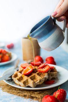 Paleo Single Serve Waffles
