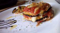 Berenjenas a la parmesana con scamorza ahumada - Parmigiana con scamorza…
