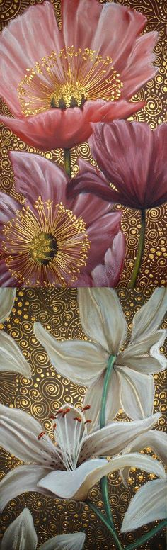China Painting, Fabric Painting, Illustration Art, Illustrations, Korean Art, Arte Floral, Flower Pictures, Fractal Art, Oeuvre D'art