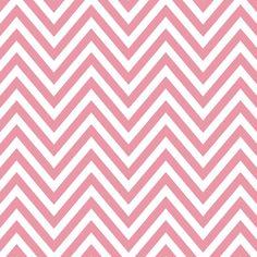 petal pink chevron print
