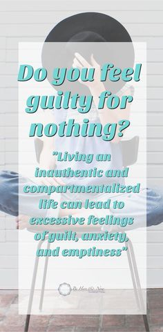 Whether it's guilt or other feelings that undermine your self-esteem, this has been ingrained in you since very early in life. This was not necessarily done deliberately to make your life miserable, it's just the way society operates and this kind of patt Feeling Down, How Are You Feeling, The Silent Treatment, Dating Tips For Women, Codependency, What Makes You Happy, Coping Skills, Relationship Advice, Relationships