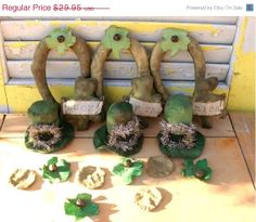 Wearin' of the green by Lois Ling on Etsy