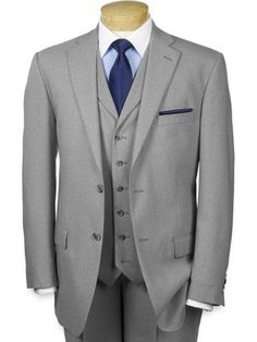 100% Wool Single Breasted Suit Separates, All items sold Separately from Paul Fredrick