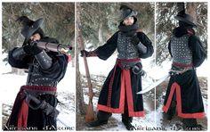 Musketeers padded Armor by *ArtisansdAzure on deviantART