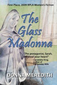 """Click to view a larger cover image of """"The Glass Madonna"""" by Donna Meredith"""