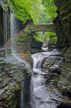 between-letters:  Watkins Glen State Park, NY