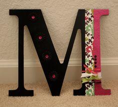 Decorated Letter leuk voor op de slaapkamer deur van de kids