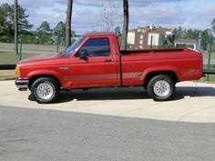 "6.1992 Ford Ranger RWD  ""The Ranger II"" cause of the Bronco II Fender"